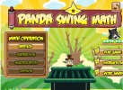 Panda Swing Math on Funbrain Jr