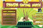 Panda Swing Math on Funbrain Jr
